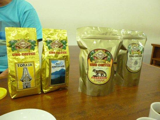 Uno Bali Inn : Uno coffee tasting