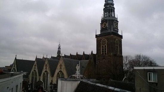 Tulip Inn Amsterdam Centre : Vue de la chambre 402