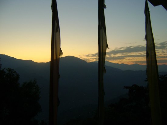 Hotel Rumtek Dzong: Morning view