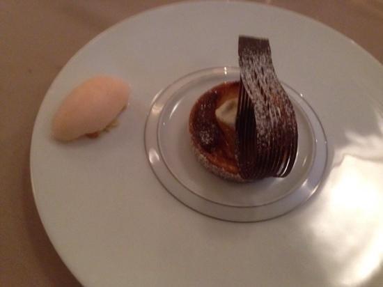 Restaurant Fanny Rey : j'ai oublié le nom de ce succulent dessert
