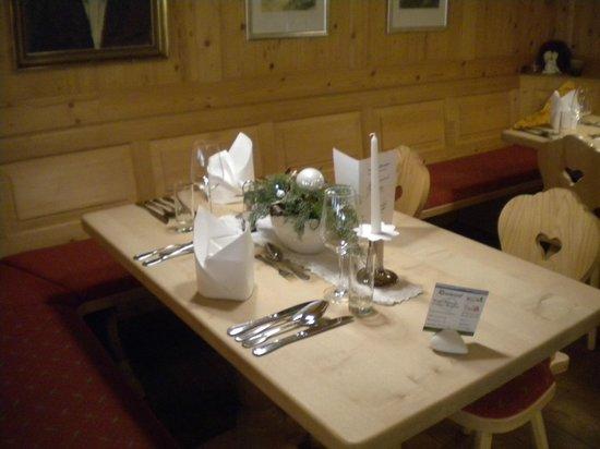 Waldhotel am Notschrei: Wunderschöne Tischdeko