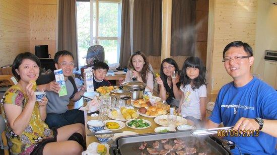 Hamatonbetsu Onsen Wing: 吃早餐
