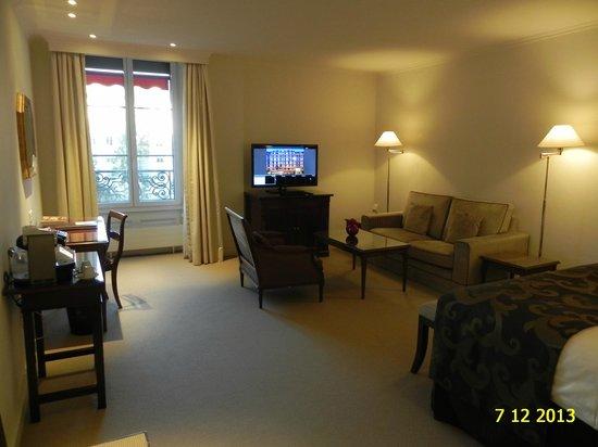 Hotel Bristol: Deluxe room