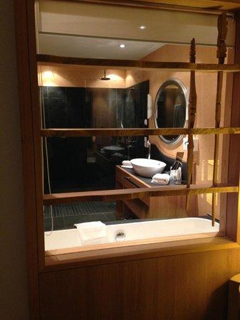 Hotel Adler Balance : bagno panoramico