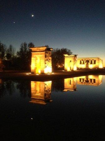 Templo de Debod : templo de debot