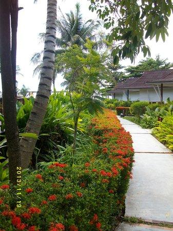 Nakara Long Beach Resort, Koh Lanta : Gången till Andamansjön