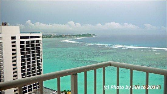 The Westin Resort Guam : Room1923からタモン湾を望む