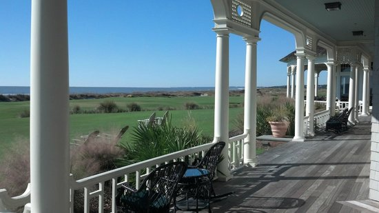 The Sanctuary Hotel at Kiawah Island Golf Resort : View from The Ocean Course Clubhouse