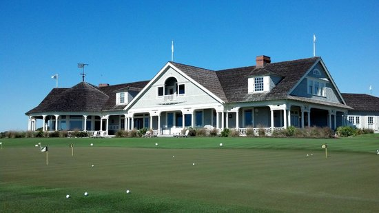 The Sanctuary Hotel at Kiawah Island Golf Resort : Clubhouse at The Ocean Course
