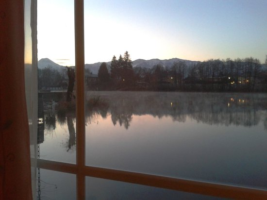 Hotel Seestuben: Zimmeraussicht auf den See