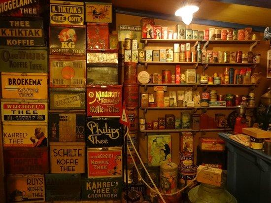 Hotel Nobel Ameland: oude blikken in het Nostalgisch museum Nobel