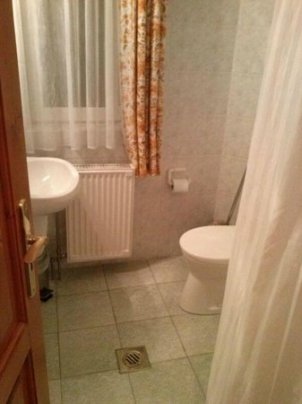 Hotel Haus Csanaky: Bad