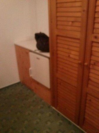 Hotel Haus Csanaky: Gang mit Kühlschrank
