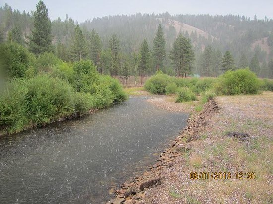 Alta Ranch: Brief hail storm lasted about 10 minutes, then sunshine.
