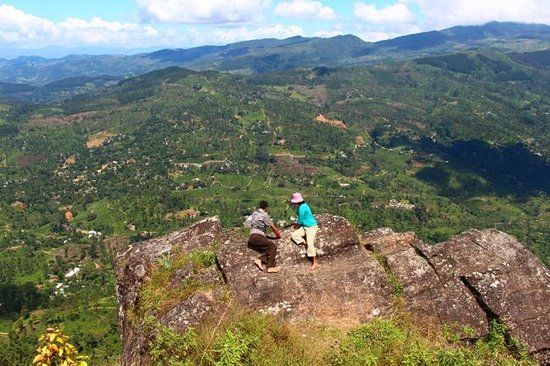 Provincia Central, Sri Lanka: The last outcrop