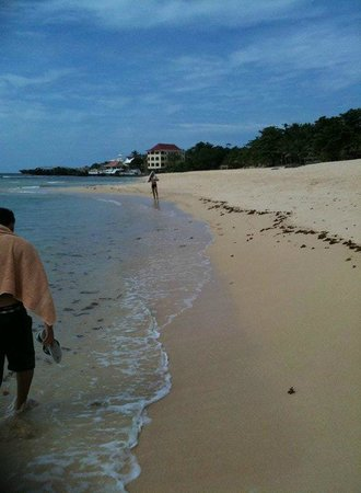 Treasures of Bolinao Beach Resort: The hotel from afar
