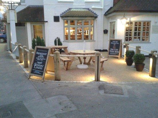 The Fir Tree Inn: The new look Fir Tree Inn