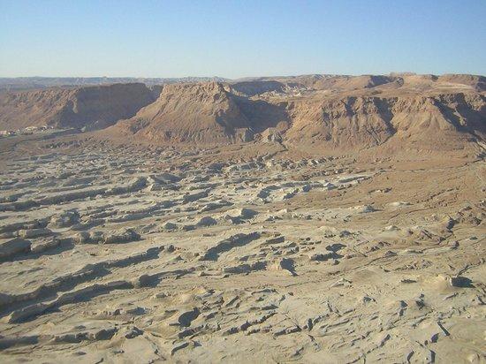 Massada-air view