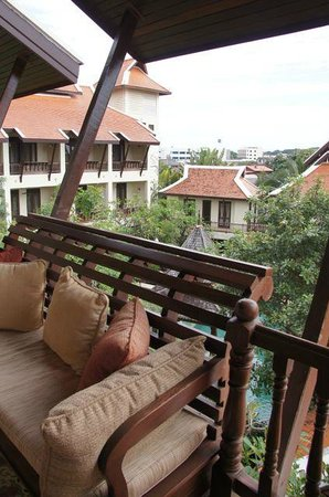 Puripunn Baby Grand Boutique Hotel: View from the top floor
