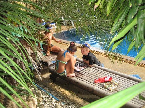 Oasis Hakuna Matata: Near the swimming pool _ July 2013