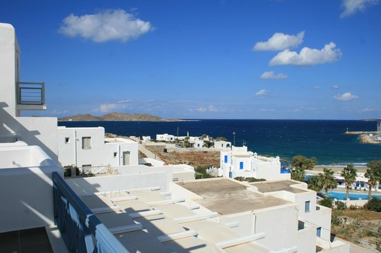 Alexandros Studio Apartments: View from our Apartment