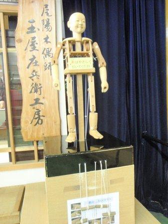 Inuyama City Cultural Museum, Karakuri Museum: 自分で動かしてみる事が出来ます