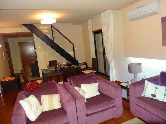 Hotel Baia da Luz: гостинная