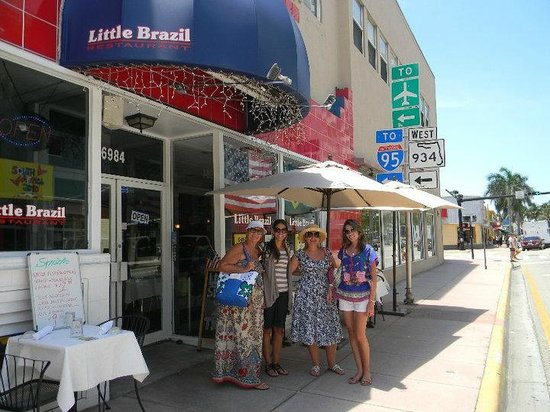 Outside of Little Brazil