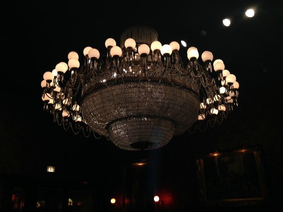 Chandelier from the original gas light club chicago picture of gaslight club chandelier from the original gas light club chicago aloadofball Choice Image