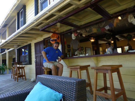 El Pescador Resort : The bar was our home away from home