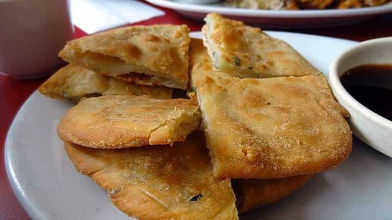 Cantonese Restaurant: Green onion cake