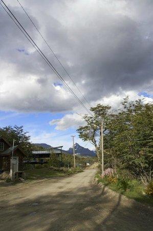 Patagonia Villa: Appena fuori dal Lodge