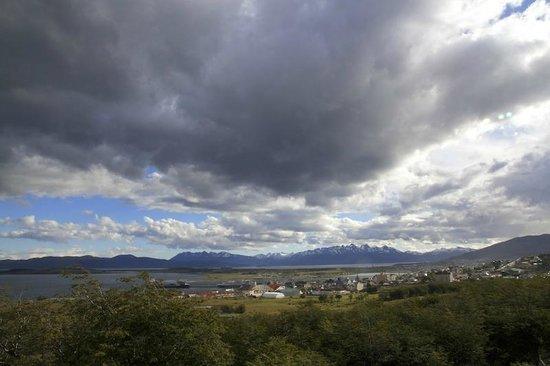 Patagonia Villa: La vista appena fuori dal lodge