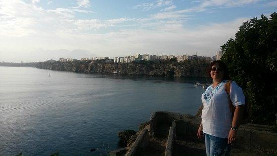 Ozmen Pension : Вид на Марину с набережной недалеко от отеля