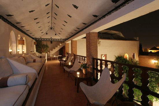 Dar Warda: La terrasse