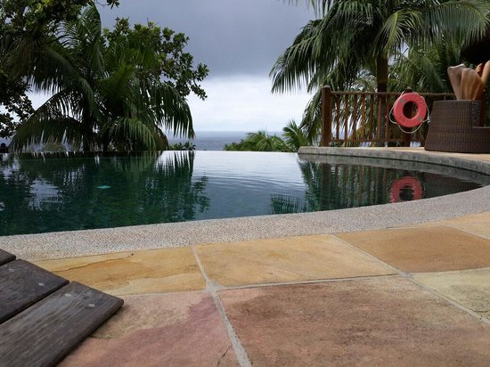 Valmer Resort : View from the pool area