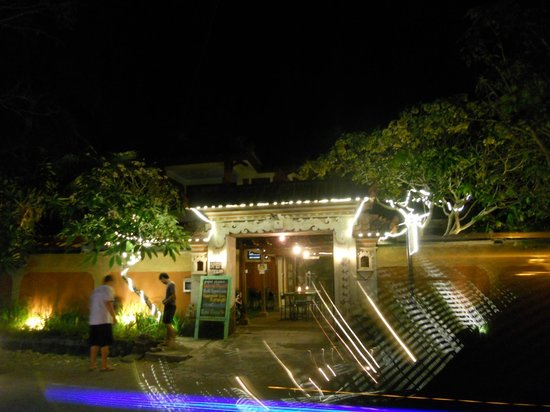 Paper Planes: The night view of their main entrance