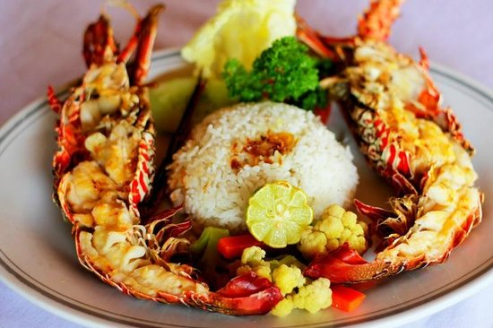 Sari Agung Restaurant & Bar: Fresh Lobster