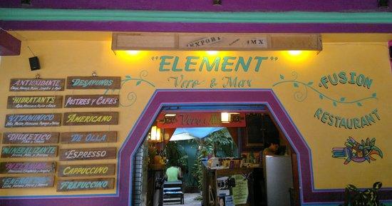 Element Fusion Restaurant : Element