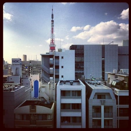 Hotel MyStays Hamamatsucho : view from our room