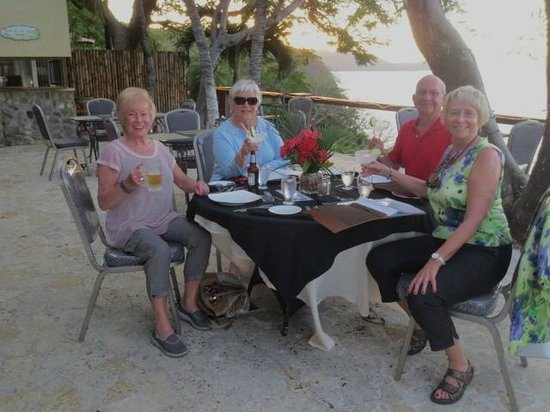 Roca Bruja: Dinner with a fabulous view