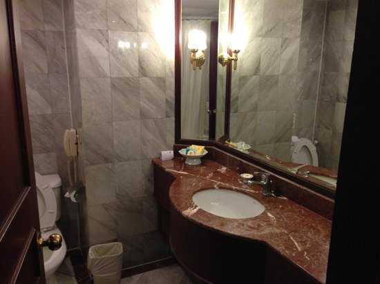 Hotel Windsor Suites and Convention: Bathroom
