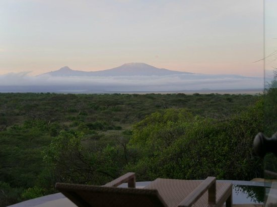 Great Plains Conservation ol Donyo Lodge : Ausblick vom Zimmer