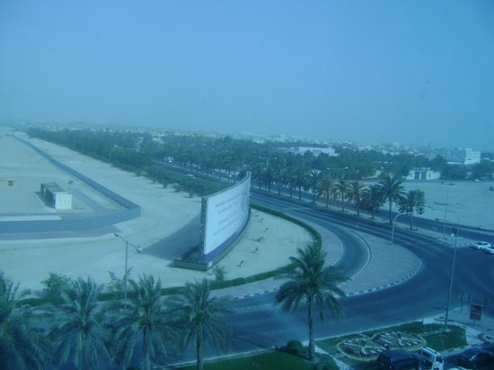 Wyndham Grand Regency Doha: view from the room