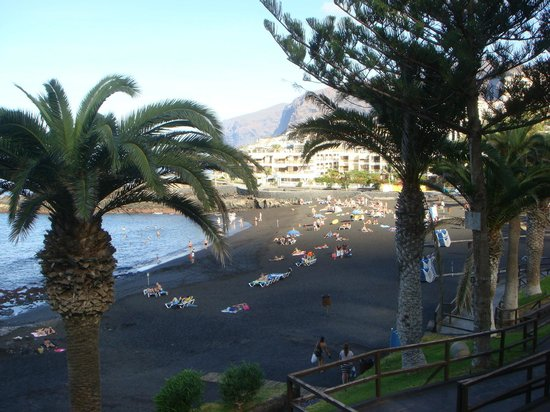 Playa de la Arena, إسبانيا: PLage 200 m hotel