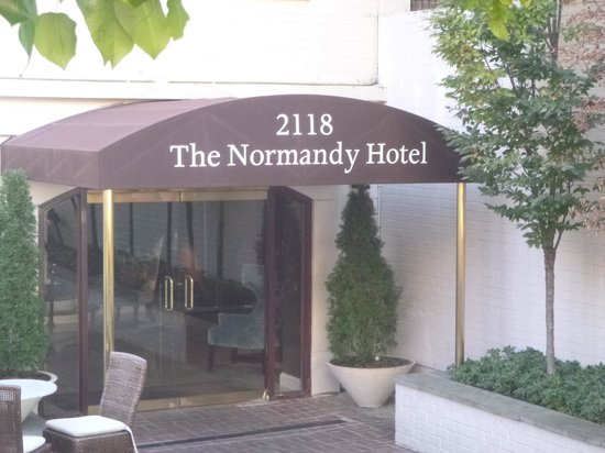 The Normandy Hotel: Vores hyggelig hotel i Washington