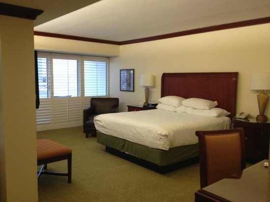 Hyatt Regency Orlando International Airport : Suite Bedroom