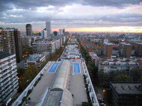Apartamentos Eurobuilding 2: View from top Floor of Hotel