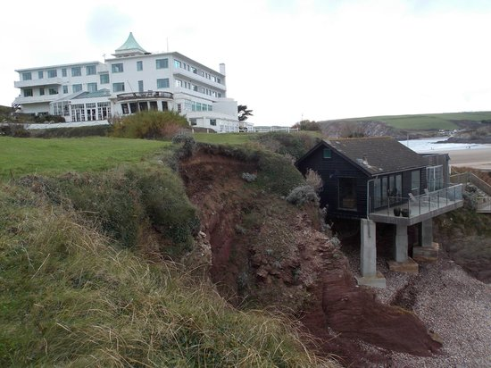 Burgh Island Hotel : Hotel and Beach Hut