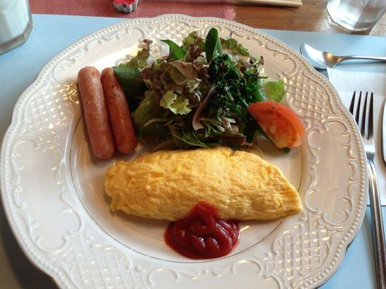 Pension Kaze No Oka Nobara: Healthy breakfast